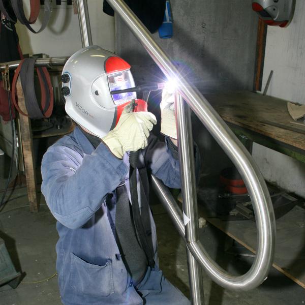 lakatosipari munkák  Rozsdamentes acél hegesztés