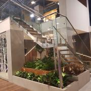 lakatosipari munkák  Rozsdamentes lépcső szerkezet