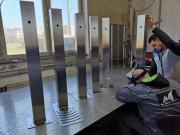 lakatosipari munkák  Rozsdamentes ivókút hegesztése